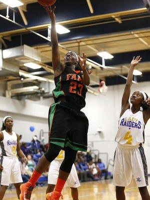 New U of L women's basketball commit Jazmine Jones.