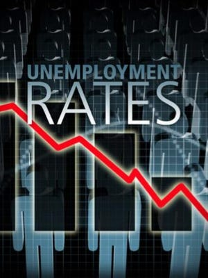 Unemployment rate graphic