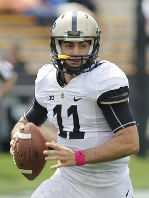 Purdue quarterback David Blough