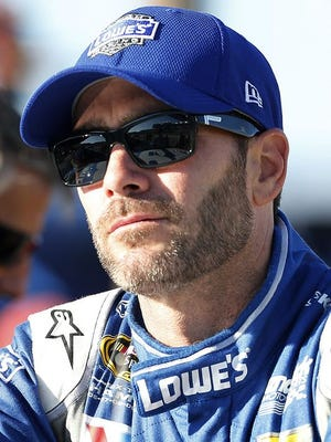 Jimmie Johnson isn't eyeing retirement from NASCAR just yet.