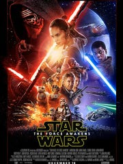 """The poster for """"Star Wars: The Force Awakens"""" has been"""