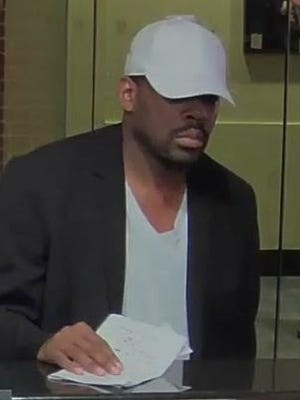 Surveillance photo of suspect in Oct. 2 TD Bank robbery in White Plains