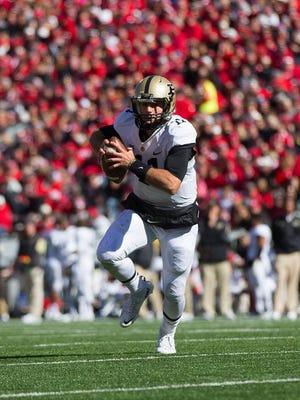 Purdue quarterback David Blough
