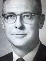 Fort Myers attorney James Franklin, Jr. in 1965