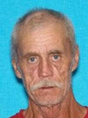 Floyd Ray Cook, 62, is accused of shooting and wounding an Algood, Tenn., police officer on Saturday, Oct. 24, 2015. Police continue to search for him.