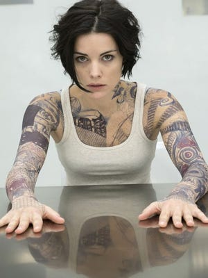 Jaimie Alexander plays Jane Doe, a tattooed woman with no memory of her identity, in NBC's 'Blindspot.'
