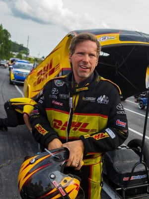 Del Worsham holds a 38-point lead in the Funny Car standings heading into the NHRA season finale at Pomona, Calif.