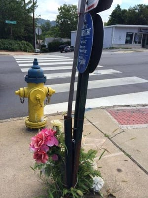 A pedestrian was killed at this Merrimon Avenue intersection in January.
