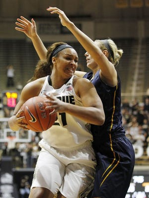 Former Mt. Vernon standout Erica Moore is transferring from Purdue.