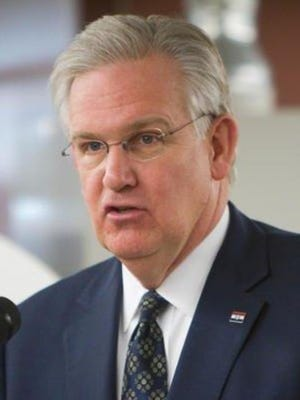 Gov. Jay Nixon applauded Missouri's four-year graduation rate, which is up again this year.