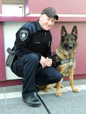Officer Charles Beckford and K-9 Rony have been partners since May 2014.