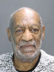 Bill Cosby booking photo, Dec. 30, 2015, provided by the Cheltenham Police Department in Elkins Park, Pa.