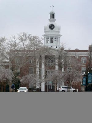 The Rutherford County Courthouse sits in the center of the Square in Murfreesboro.