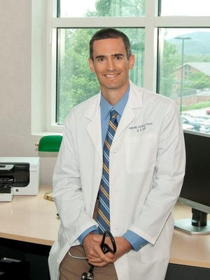 Dr. Brian Asbill of Asheville Cardiology.