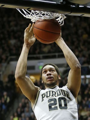 A.J. Hammons was named Big Ten Player of the Week after his career-best performance against Nebraska.