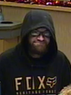 West Manchester Township Police released this photo of a man after the Fulton Bank on Kenneth Road was robbed on Jan. 29. Police have now charged a man in the robbery.