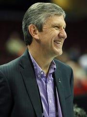Men's basketball committee member Jim Schaus has ties to Purdue.