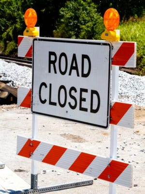 The Delaware Department of Transportation announced road closures in all three countries in February.