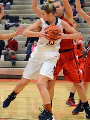 Brighton's Beth Dziekan had 11 rebounds, but the Bulldogs lost in overtime to Waterford Mott in the KLAA tournament.
