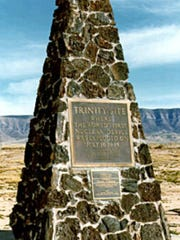 The world's first atomic bomb was detonated on July 16, 1945, at Trinity Site, on the north end of what is now White Sands Missile Range.