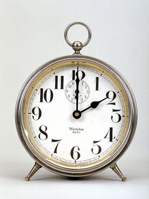 Daylight Saving Time begins at 2 a.m. Sunday, March 13.