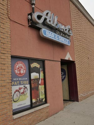 Albert's on the Alley closed its doors Saturday, a temporary move according to a sign posted in the window.