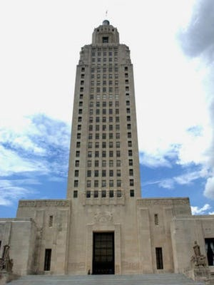 The Louisiana State Capitol in Baton Rouge.