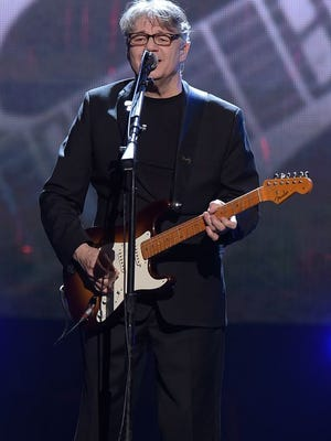 Steve Miller performs at the Rock and Roll Hall of Fame ceremony Friday.