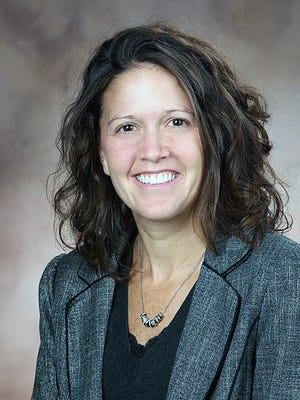 Michelle Greis has been named finance director in Liberty Township.