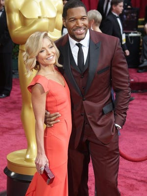 Kelly Ripa was absent Tuesday, the day after it was announced Michael Strahan is leaving 'Live With Kelly and Michael.'