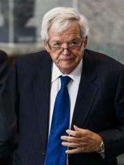 Former House speaker Dennis Hastert.