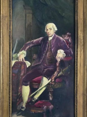 South Carolina's Henry Laurens served as president of Continental Congress for most the nine-months that the legislative body met in York Town in 1777-78.