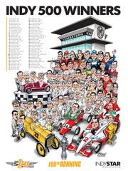 Gary Varvel's Indy 500 poster