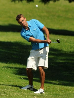 Brad Waldorf competes in the Ralph DeStefano Memorial Tournament on June 9, 2013 at College Hill Golf Club in Poughkeepsie.