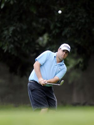 Brian Viola, seen here in a file photo, seeks his third straight Ralph DeStefano Memorial Tournament win when he faces Mike Fisher in match play at College Hill Golf Course on Sunday.