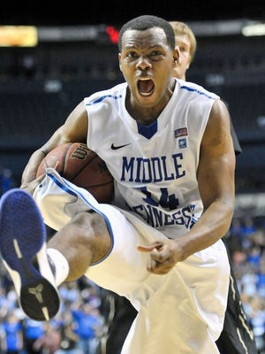 Former MTSU standout Marcos Knight helped his team reach the championship game.