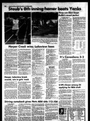 Battle Creek Sports History: Week of May 12, 1976