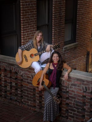 Kipyn Martin (left) and Allison Shapira will pay tribute to the music and influence of Joni Mitchell and Joan Baez, respectively.