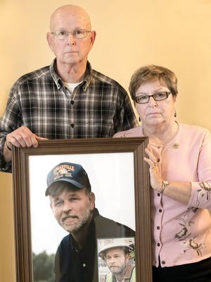 Paul and Elaine Miller of Seven Valleys lost their 45-year-old son, Rodney, Loganville's fire chief, in 2013. He was struck and killed in a hit-and-run crash while he was working an earlier DUI crash. The driver who struck Rodney was a repeat DUI offender.