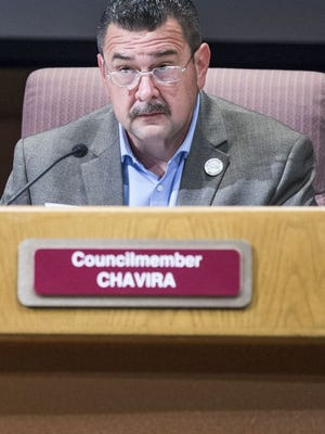 Glendale City Councilman Sammy Chavira requested a review of Glendale's travel policies after The Arizona Republic reported details of his taxpayer-funded travel.