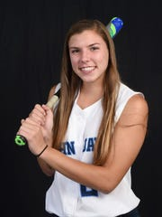 Former John Jay softball player Samantha Fitzgerald