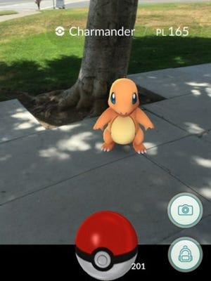 A screenshot from 'Pokemon Go.' (Photo: The Pokemon Company/Niantic)