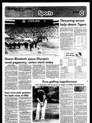 Battle Creek Sports History: Week of July 14, 1976