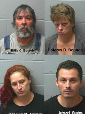 Four people previously charged in March 2015 overdose death of Adams man.
