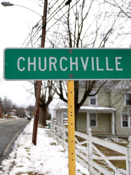 churchville sign