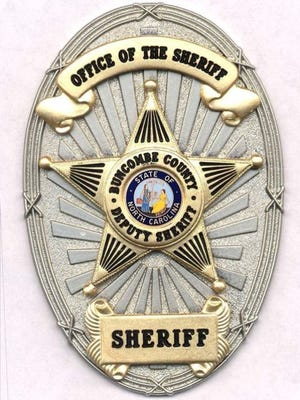 Buncombe County Sheriff badge