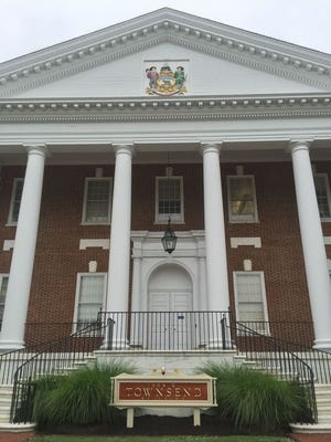 The Townsend Building in Dover houses the state's Department of Education.