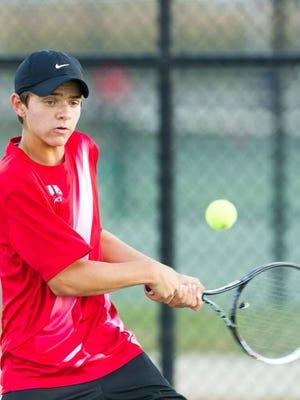 Mater Dei tennis standout Aaron Thompson