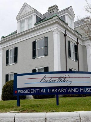 Woodrow Wilson Presidential Library and Museum on 20 N. Coalter St. in Staunton, Virginia.