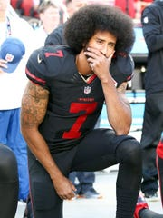 Colin Kaepernick, the controversial football player